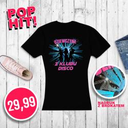 T-shirt damski - DZIEWCZYNA...